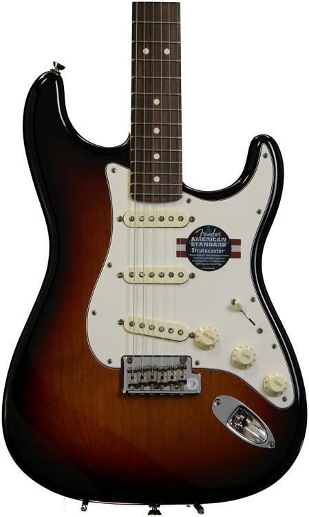 Fender American Standard Stratocaster - 3-color Sunburst with Rosewood Fingerboard image 1
