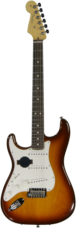 Fender American Standard Strat - Left-Handed Honey Burst image 1