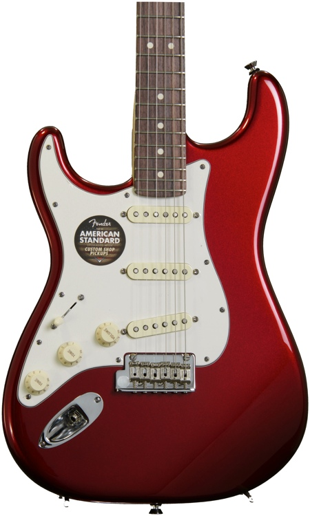 Fender American Standard Stratocaster, Left handed - Mystic Red with Rosewood Fingerboard image 1