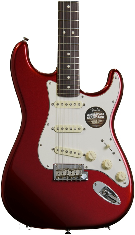 Fender American Standard Stratocaster - Mystic Red with Rosewood Fingerboard image 1
