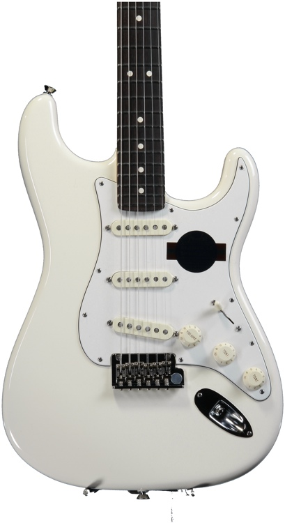 Fender American Standard Stratocaster - Olympic White with Rosewood Fingerboard image 1