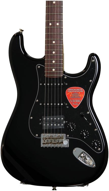 Fender American Special Stratocaster HSS - Black image 1