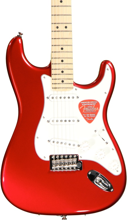 Fender American Special Stratocaster - Candy Apple Red image 1