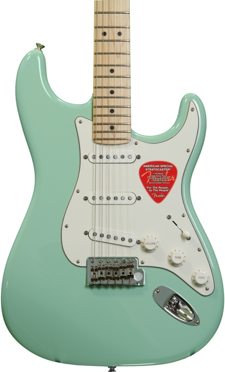 Fender American Special Stratocaster - Surf Green image 1