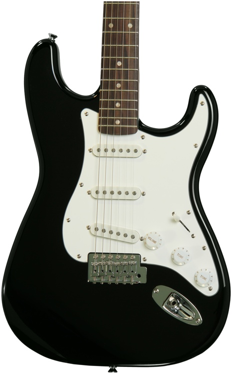 Squier Affinity Stratocaster - Black with Rosewood Fingerboard image 1