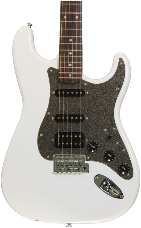 Squier Affinity Stratocaster HSS - Olympic White with Rosewood Fingerboard image 1