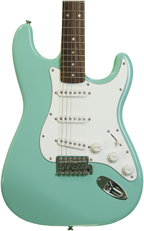 Squier Affinity Stratocaster - Surf Green with Rosewood Fingerboard image 1