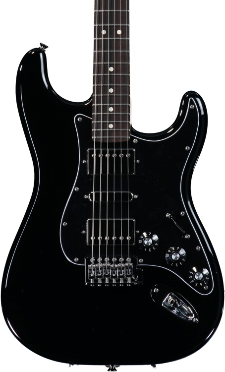 Fender Blacktop Stratocaster HSH - Black image 1