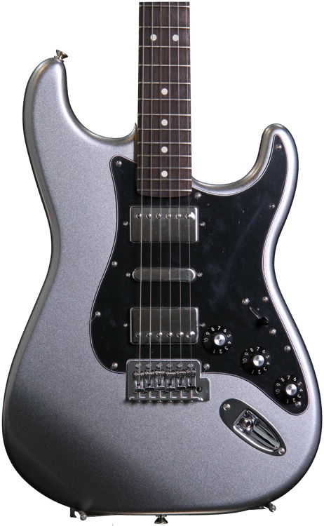 Fender Blacktop Stratocaster HSH - Titanium Silver image 1