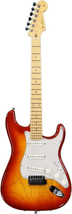 Fender Custom Shop Custom Deluxe Stratocaster - Aged Cherry Sunburst image 1
