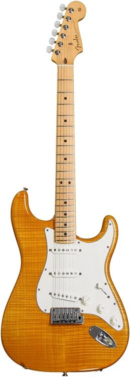 Fender Custom Shop 2013 Custom Deluxe Strat - Amber Transparent image 1