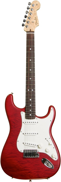 Fender Custom Shop 2014 Custom Deluxe Stratocaster - Candy Apple Red image 1