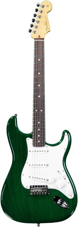 Fender Custom Shop Custom Deluxe Stratocaster Special - Emerald Green Transparent image 1
