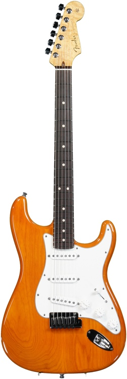 Fender Custom Shop Custom Deluxe Stratocaster Special - Sunset Orange Transparent image 1