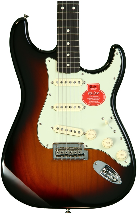"""Fender Classic Player _""""ƒ60s Stratocaster - 3-color Sunburst with Rosewood Fingerboard image 1"""