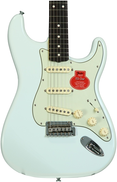 """Fender Classic Player _""""ƒ60s Stratocaster - Sonic Blue with Rosewood Fingerboard image 1"""
