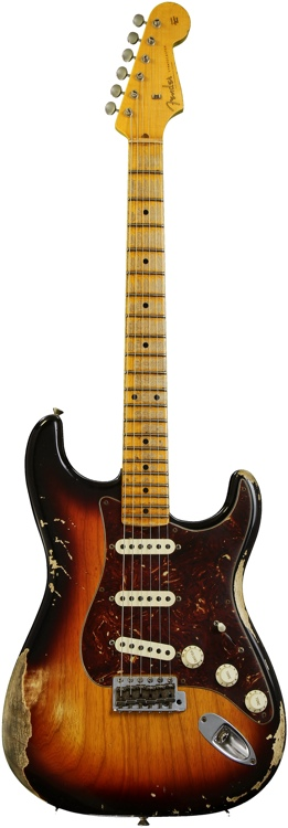 Fender Custom Shop Sweetwater Special \'57 Stratocaster - Antique Burst, Heavy Relic image 1