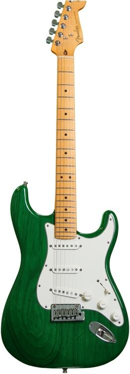 Fender Custom Shop Custom Special Trans Ash Stratocaster - Emerald Green image 1