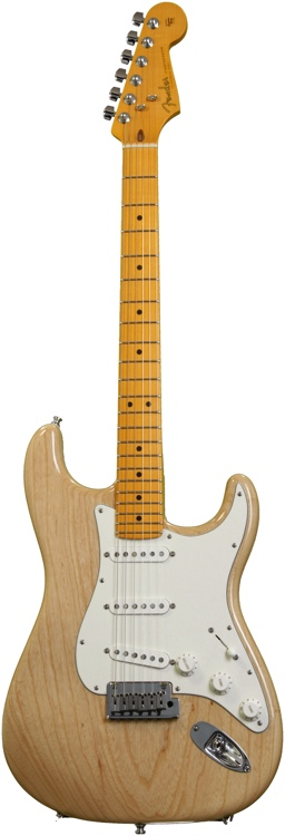 Fender Custom Shop Custom Special Trans Ash Stratocaster - Natural image 1