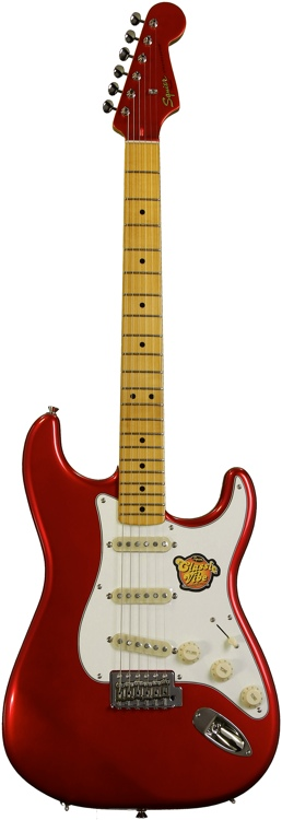 Squier Classic Vibe Stratocaster \'50s - Candy Apple Red image 1