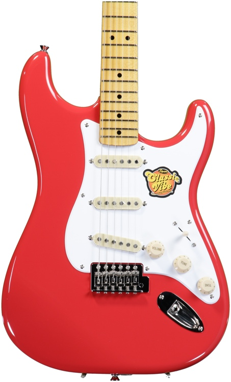 Squier Classic Vibe Stratocaster \'50s - Fiesta Red image 1