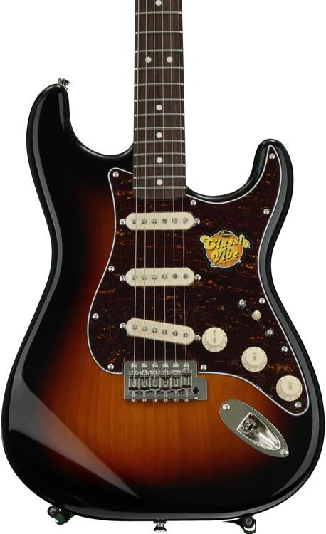 Squier Classic Vibe Stratocaster \'60s - 3-tone Sunburst image 1