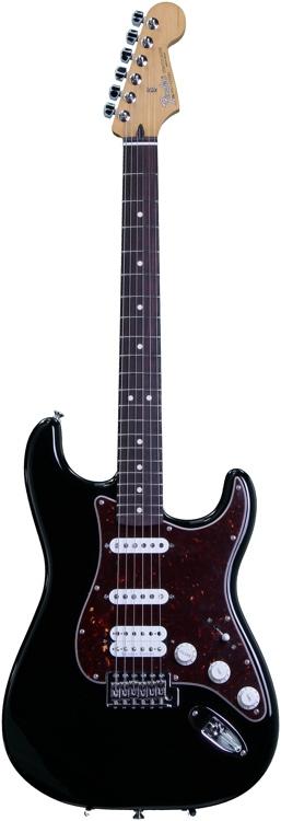 Fender Deluxe Lone Star Strat - Black image 1