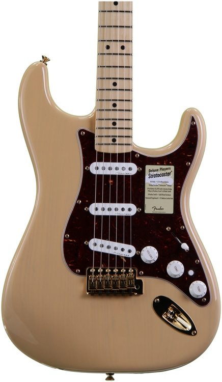 Fender Deluxe Player\'s Strat - Honey Blonde image 1