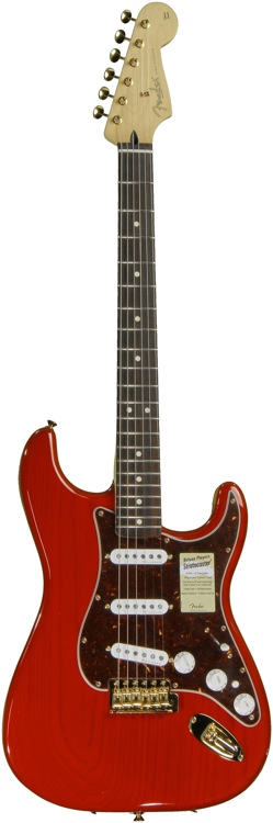 Fender Deluxe Player\'s Strat - Crimson Red Transparent image 1