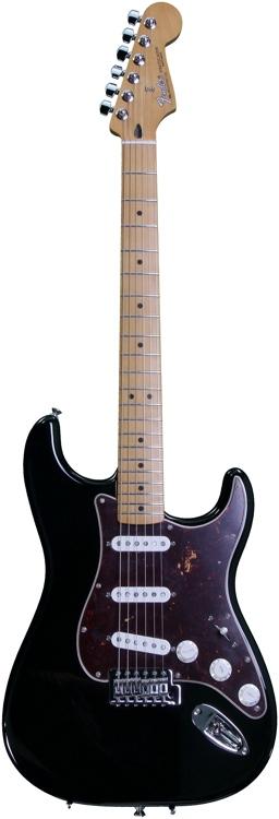 Fender Deluxe Roadhouse Stratocaster - Black image 1