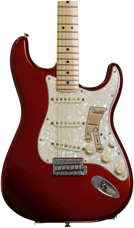 Fender Deluxe Roadhouse Stratocaster - Candy Apple Red image 1