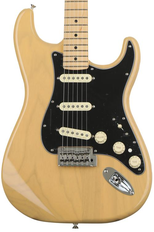 Fender Deluxe Stratocaster - Vintage Blonde with Maple Fingerboard image 1