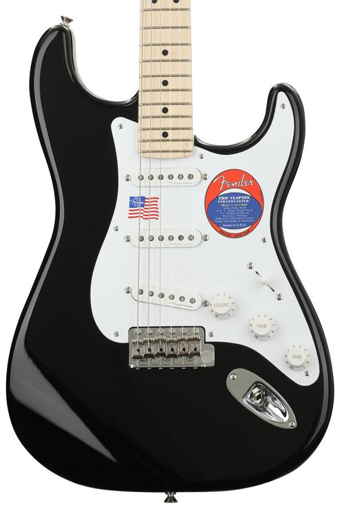 Fender Eric Clapton Stratocaster - Black with Maple Fingerboard image 1