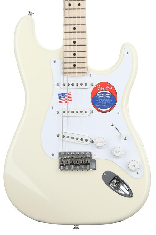 Fender Eric Clapton Stratocaster - Olympic White with Maple Fingerboard image 1
