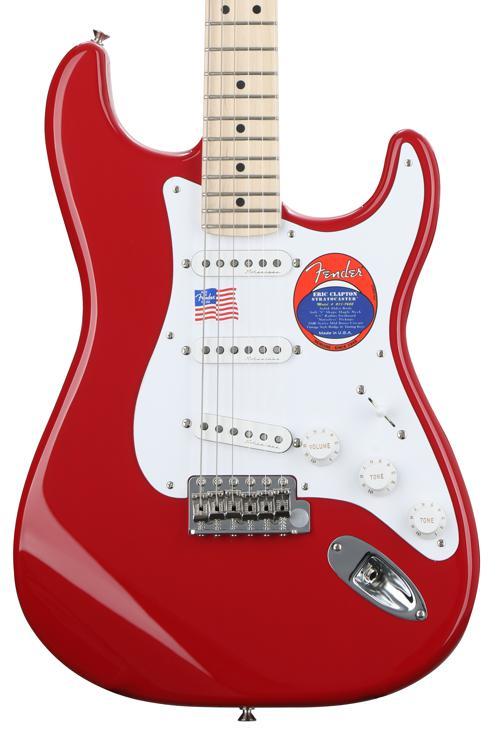 Fender Eric Clapton Stratocaster - Torino Red, Maple fingerboard image 1
