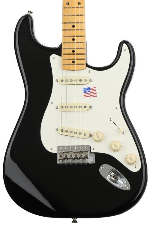 Fender Eric Johnson Stratocaster - Black with Maple Fingerboard image 1