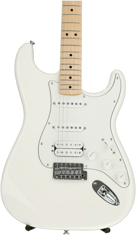 Fender Standard Stratocaster HSS - Arctic White with Maple Fingerboard image 1