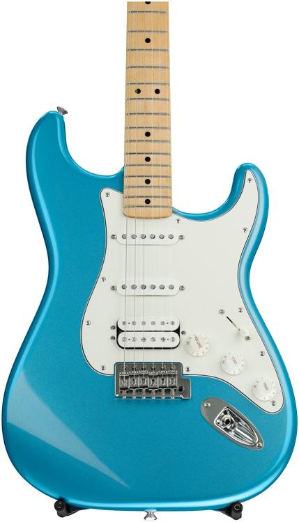 Fender Standard Stratocaster HSS - Lake Placid Blue with Maple Fingerboard image 1