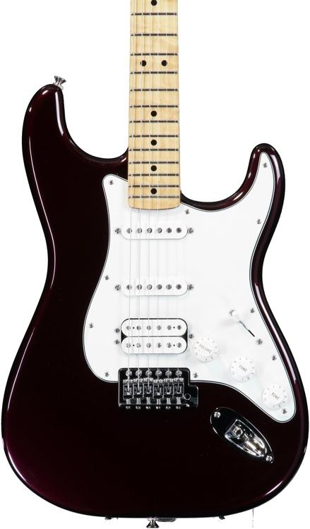 Fender Standard Strat HSS - Midnight Wine, Maple image 1
