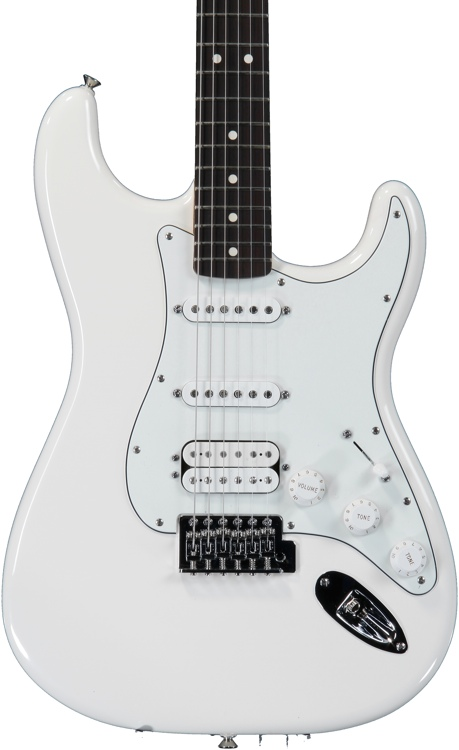 Fender Standard Stratocaster HSS - Arctic White with Rosewood Fingerboard image 1
