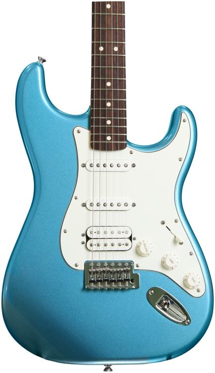 Fender Standard Stratocaster HSS - Lake Placid Blue with Rosewood Fingerboard image 1