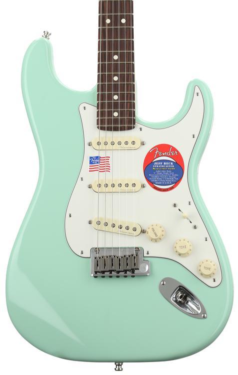 Fender Jeff Beck Stratocaster - Surf Green with Rosewood Fingerboard image 1