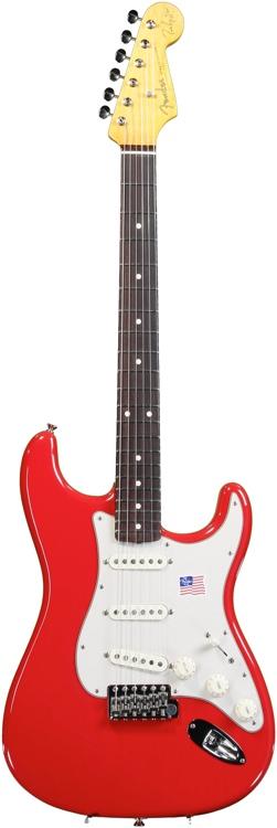 Fender Mark Knopfler Stratocaster - Hot Rod Red image 1