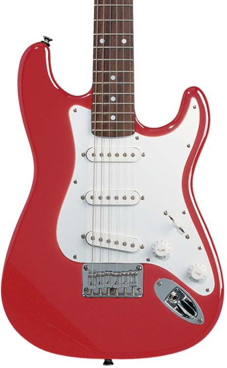 Squier Mini Strat - Torino Red image 1
