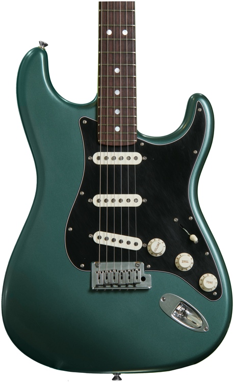 fender custom shop stratocaster pro closet classic sherwood green metallic sweetwater. Black Bedroom Furniture Sets. Home Design Ideas