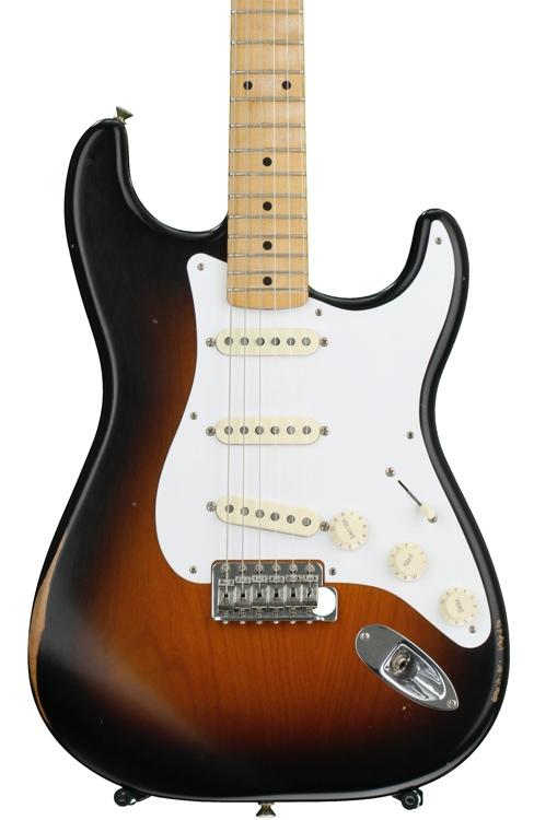 Fender Road Worn \'50s Stratocaster - 2-color Sunburst with Maple Fingerboard image 1