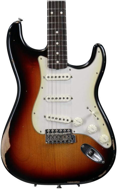 Fender Road Worn \'60s Stratocaster - 3-color Sunburst with Rosewood Fingerboard image 1