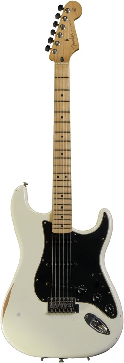 Fender Road Worn Player Stratocaster - Olympic White image 1