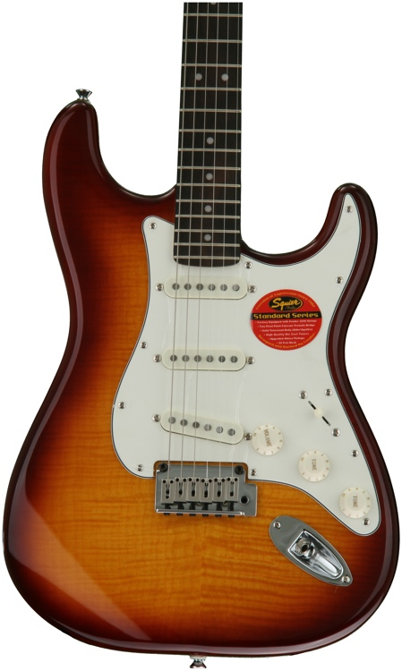 Squier Standard Stratocaster FMT - Amber image 1