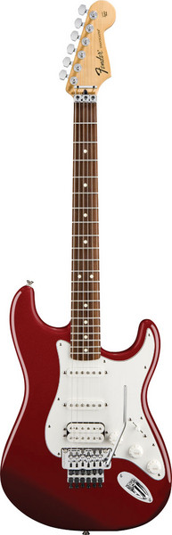 Fender Standard Strat HSS with Locking Tremolo - Candy Apple Red image 1
